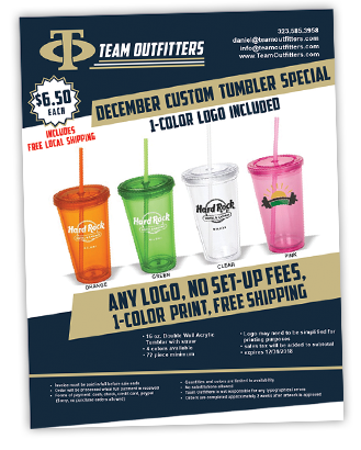 Tumbler Cup Special